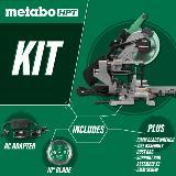 Dual Bevel Sliding Miter Saw kit
