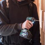36V Impact Driver Action
