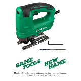 Jig Saw with Dust Blower Nose Name Change