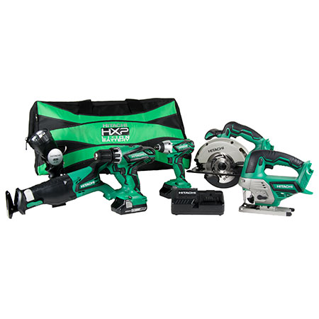 KC18DG6LPA 18V Cordless 6-Piece Combo Kit image