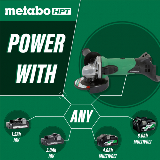 Lithium Ion Angle Grinder power