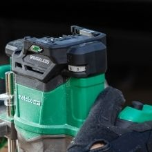 Cordless Plunge Router Speed Control