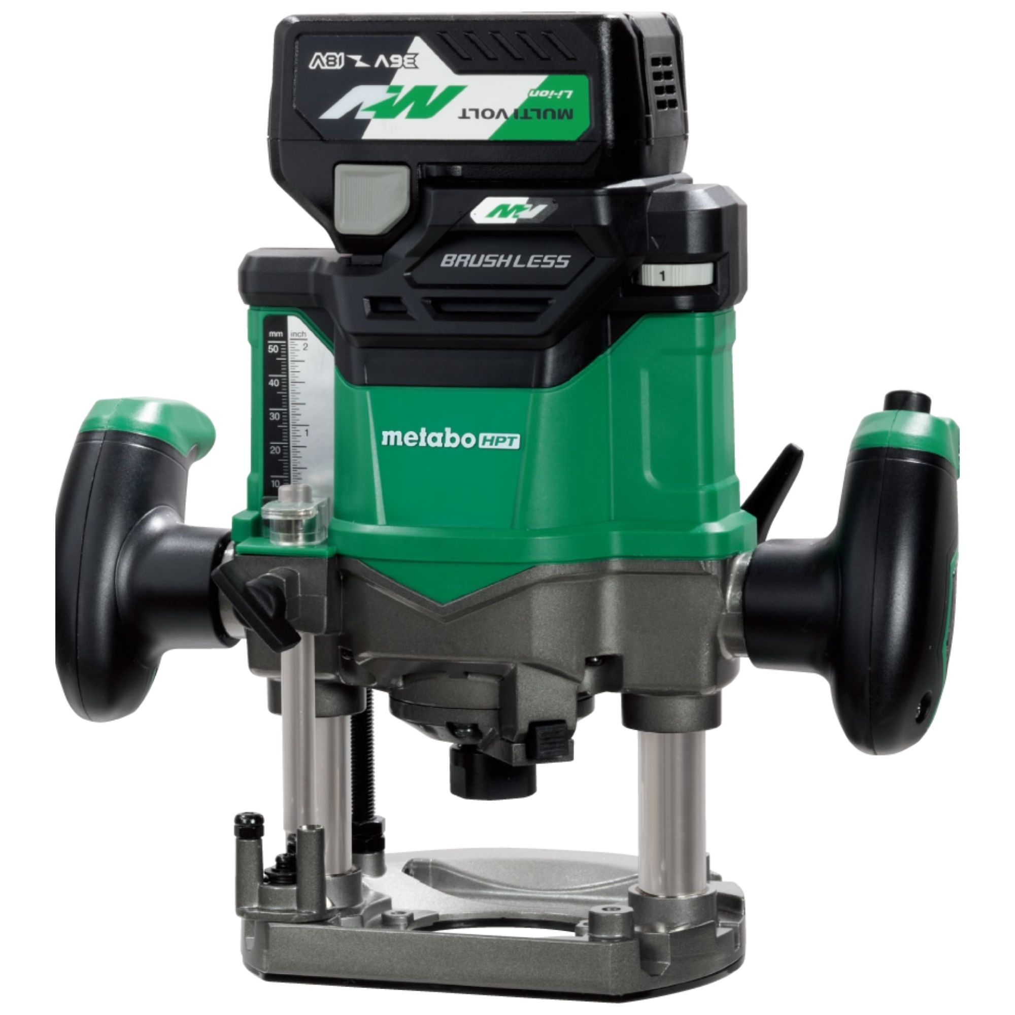 Cordless Plunge Router