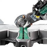Sliding Dual Compound Miter Saw Bevel Detail