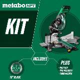 Sliding Dual Compound Miter Saw kit