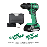 Sub-Compact Cordless Drill Name Change