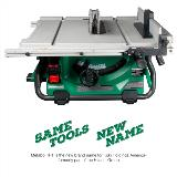 MultiVolt Table Saw with name change