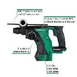 Cordless Rotary Hammer DH18DBLQ4