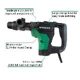 SDS Max Rotary Hammer with callouts