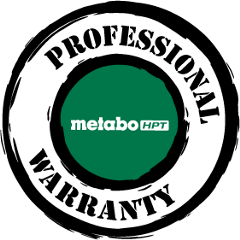 Metabo HPT Professional Warranty Stamp